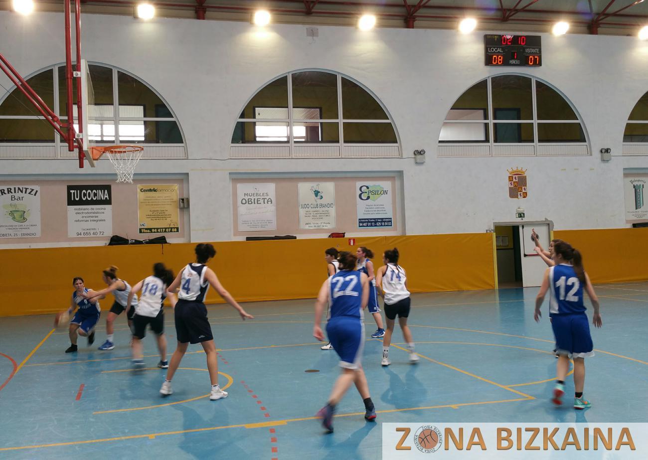 Zona Bizkaina Senior 1 Femenina Vuelve La Emoci N # Muebles Begonazpi